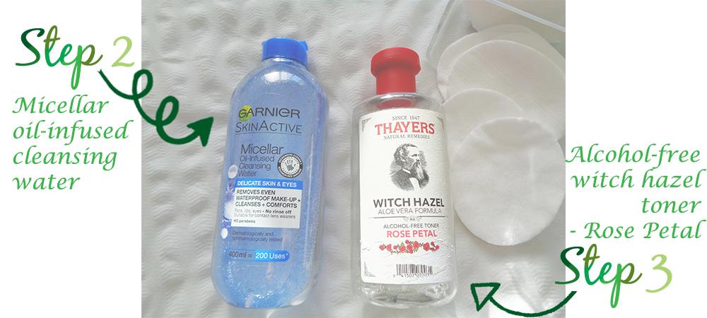 Skin care routine - Talilifestyle.com